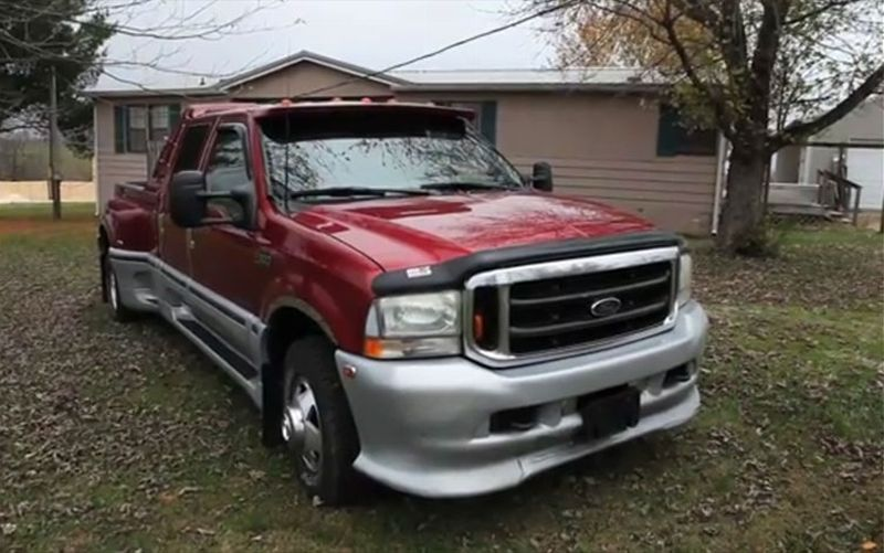 Ford F-350 Super Duty 2002 #10