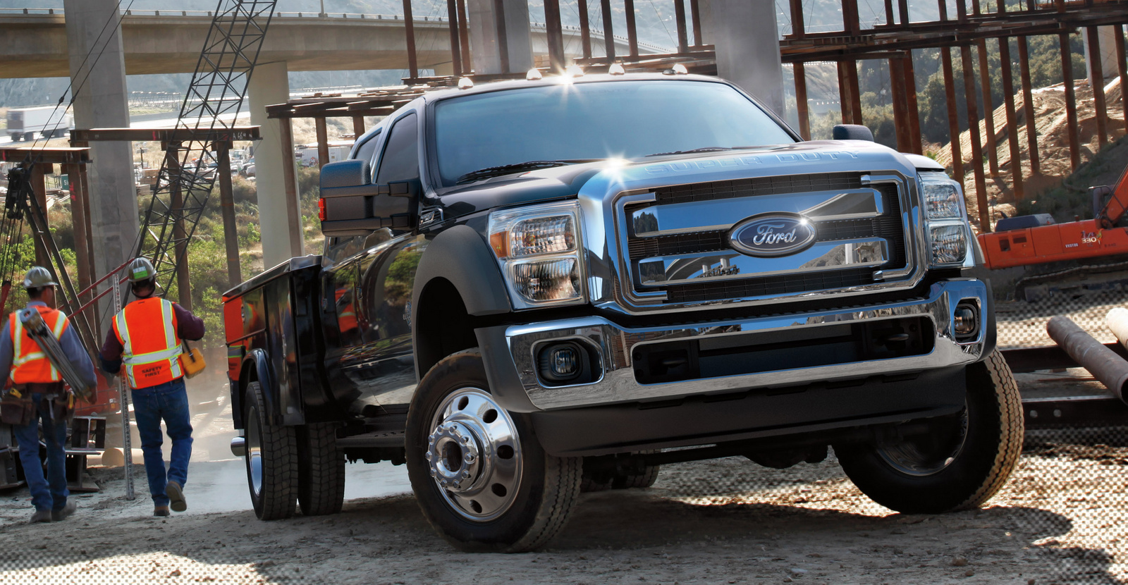 Ford F-450 Super Duty Platinum #3
