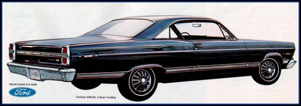Ford Fairlane 500 XL 1967 #7