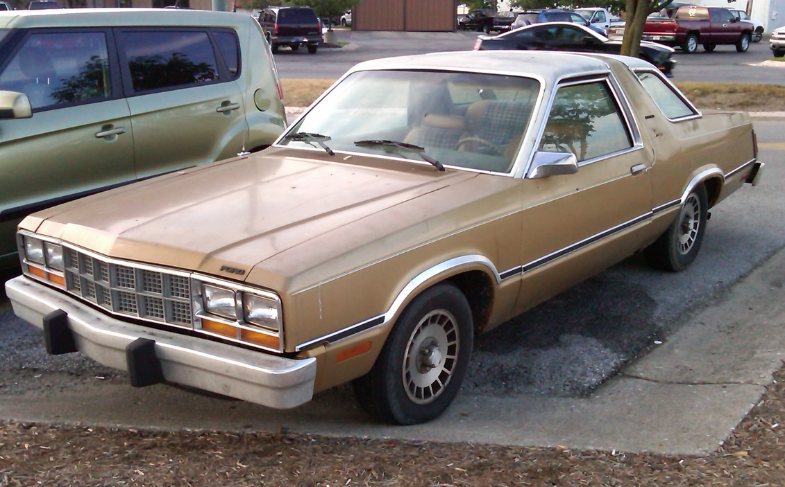 Ford Fairmont Futura  Information and photos  MOMENTcar