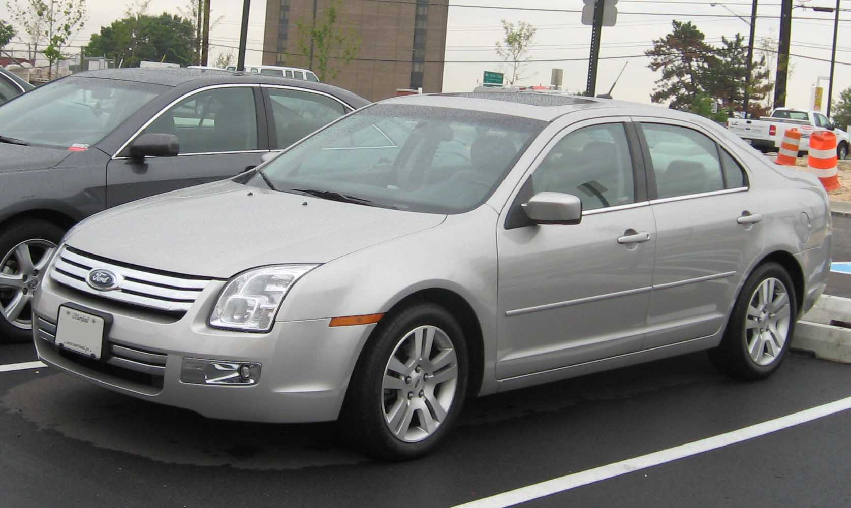 Ford Fusion 2008 #8