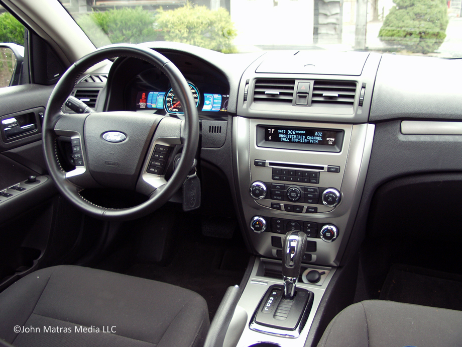 2011 ford fusion hybrid information and photos momentcar. Black Bedroom Furniture Sets. Home Design Ideas