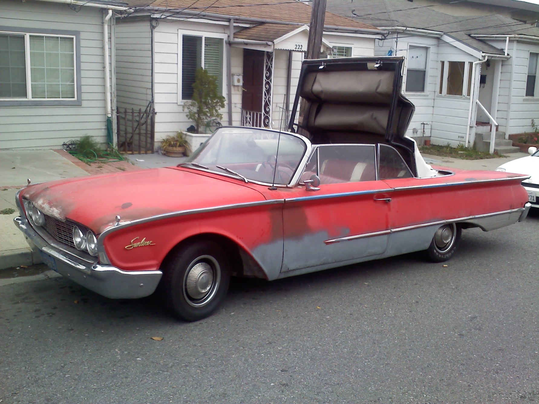 1960 ford galaxie information and photos momentcar. Black Bedroom Furniture Sets. Home Design Ideas