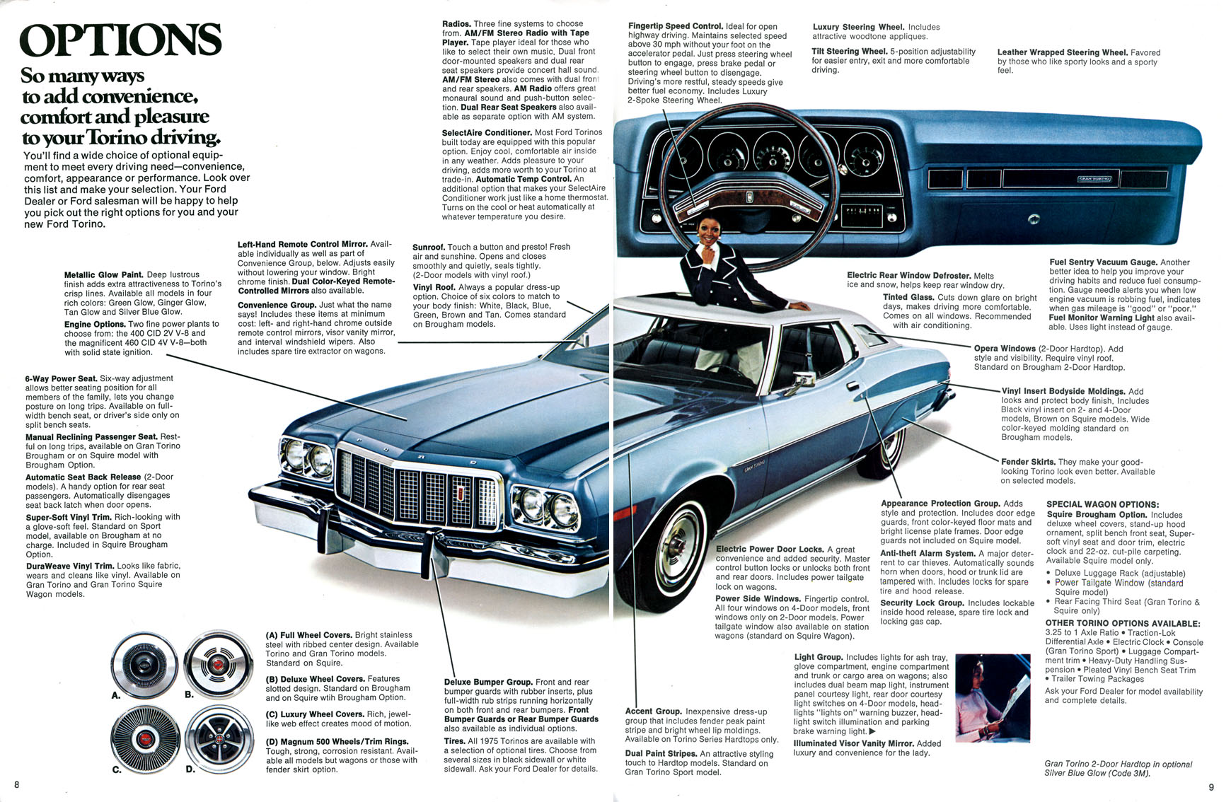 1973 Ford Gran Torino Brougham Information And Photos Momentcar 1970 Specs 12