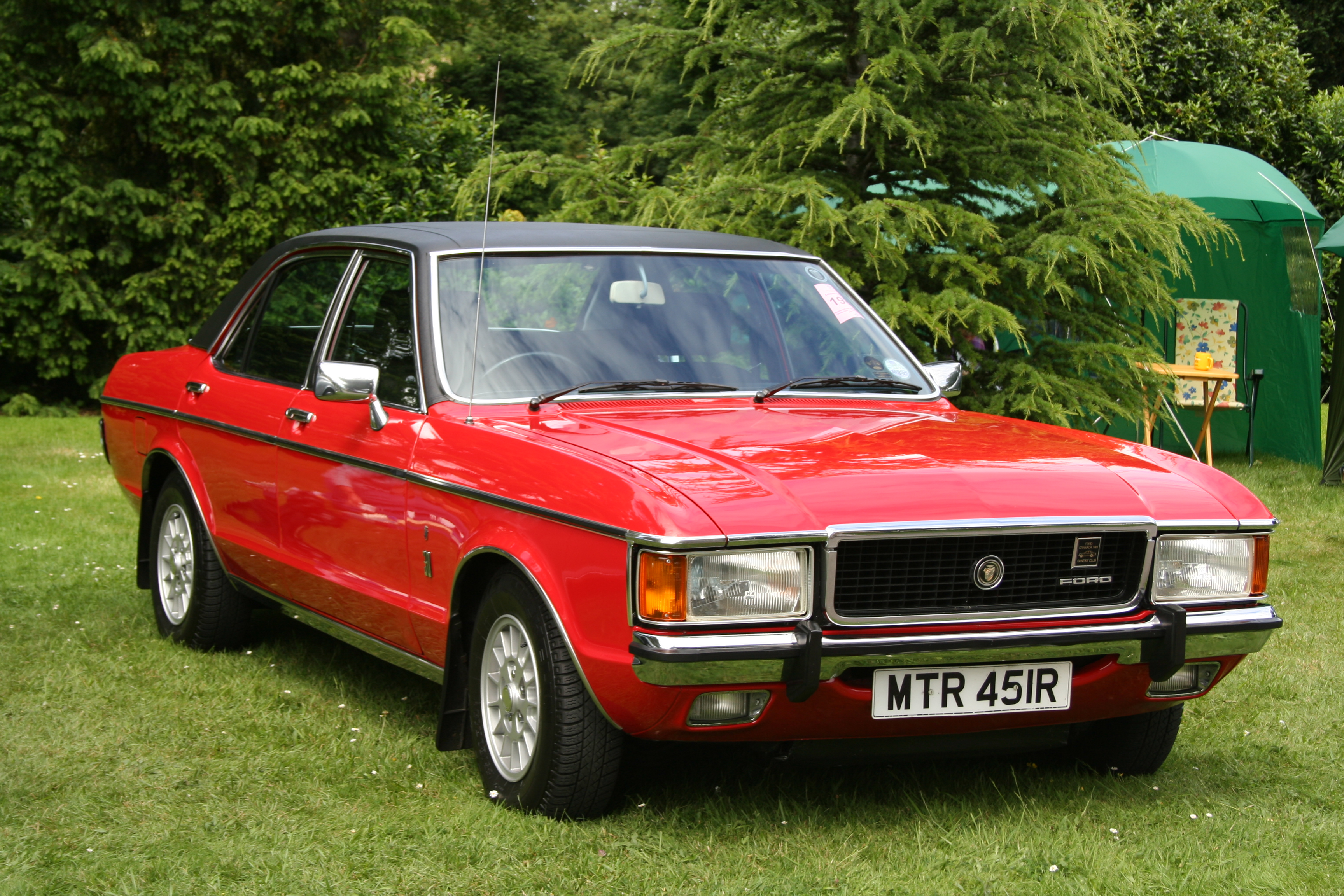 Ford Granada on Ford Cortina 1970 1976 Mk3