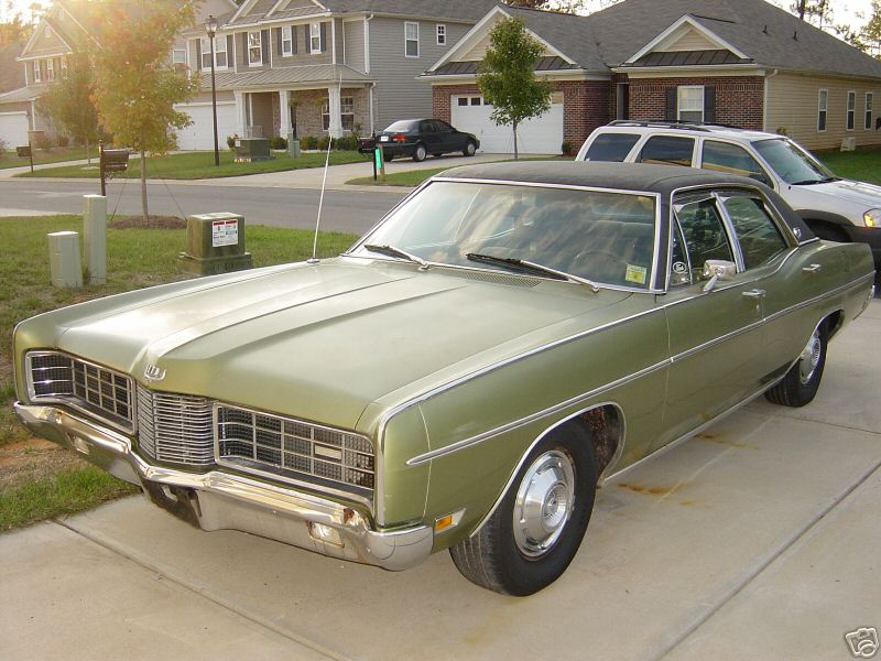 1970 Ford Ltd Information And Photos Momentcar