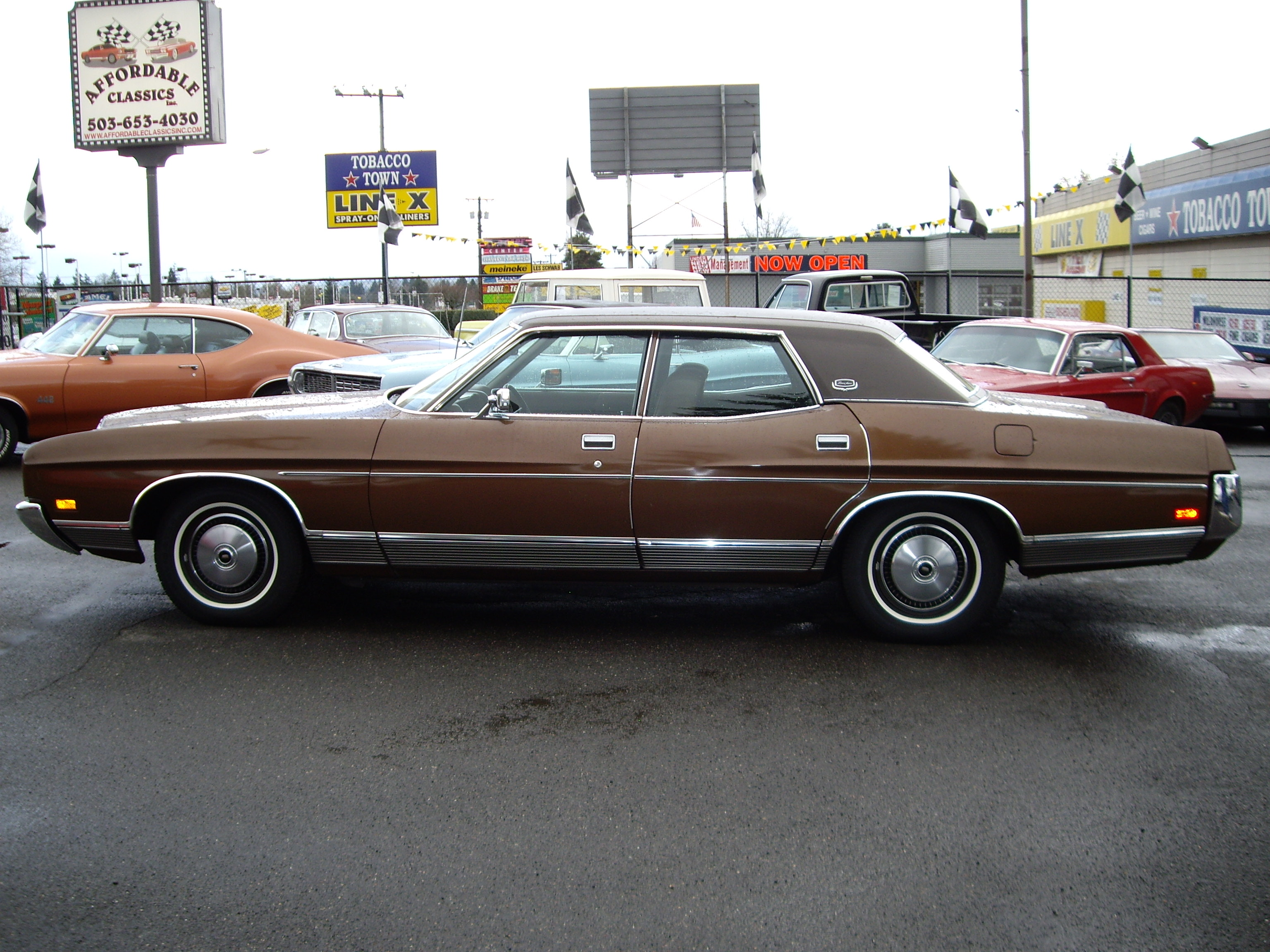 1972 Ford Ltd Brougham Information And Photos Momentcar