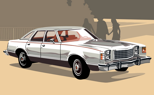 Ford LTD II #9