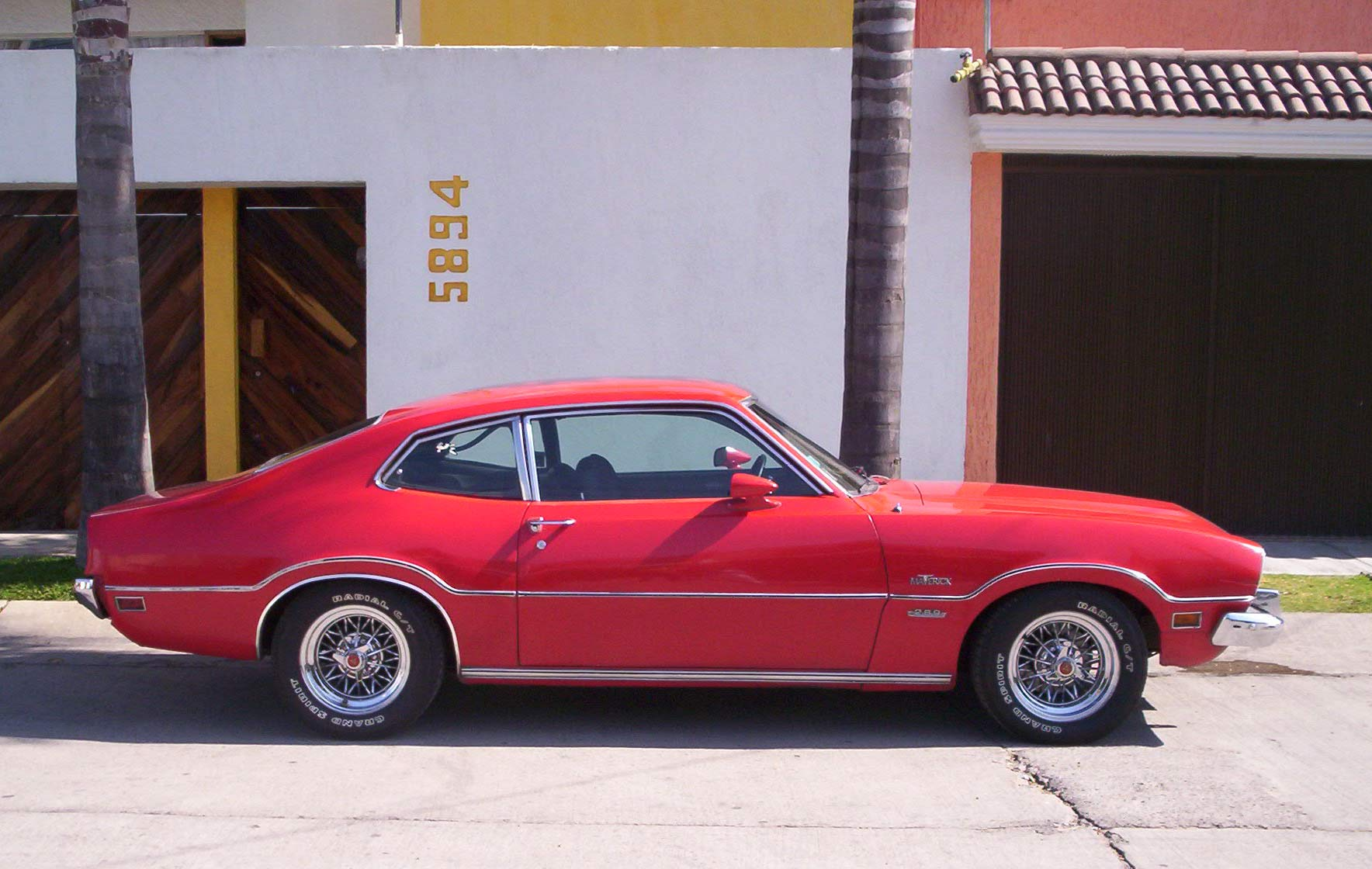 1970 Chrysler 300 >> 1973 Ford Maverick - Information and photos - MOMENTcar