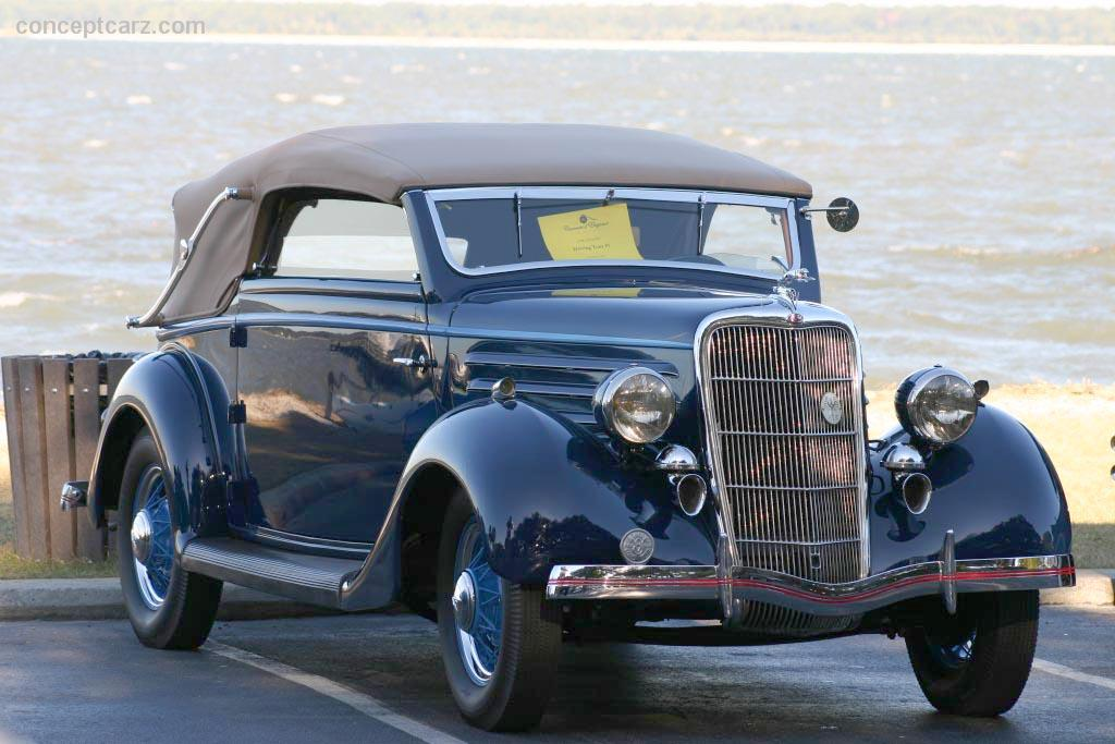 1935 Ford Model 48 Information And Photos Momentcar