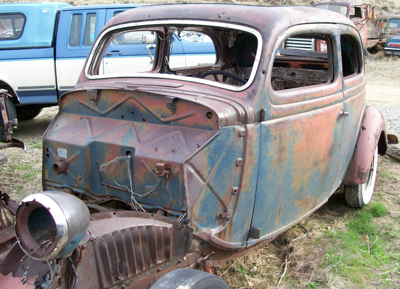 Ford model 68 information and photos momentcar for 1936 ford 4 door sedan for sale