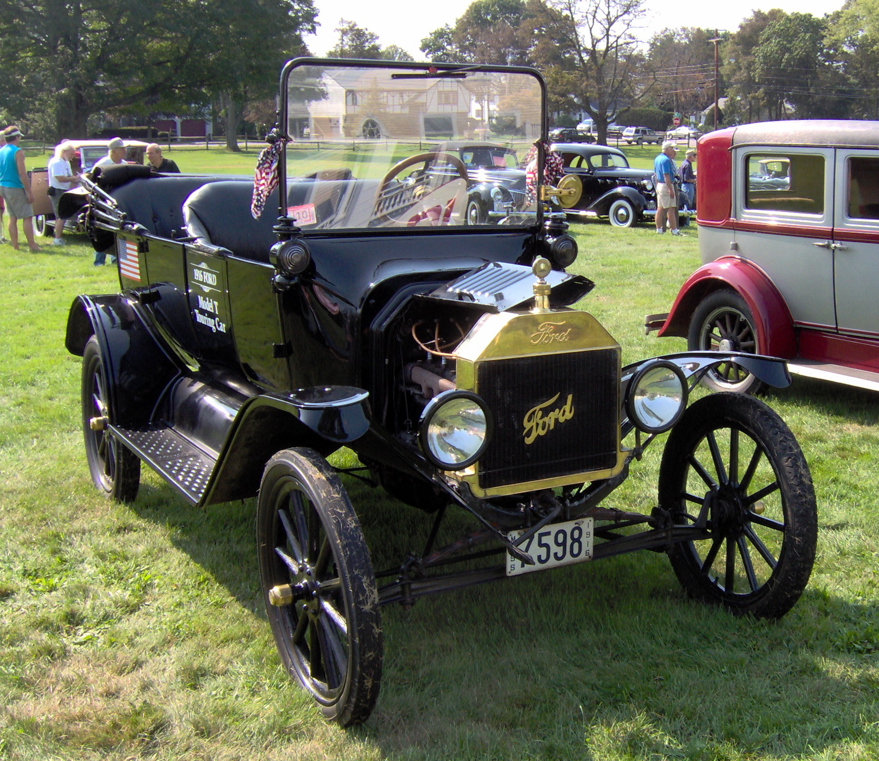 1916 Ford Model T Information And Photos Momentcar