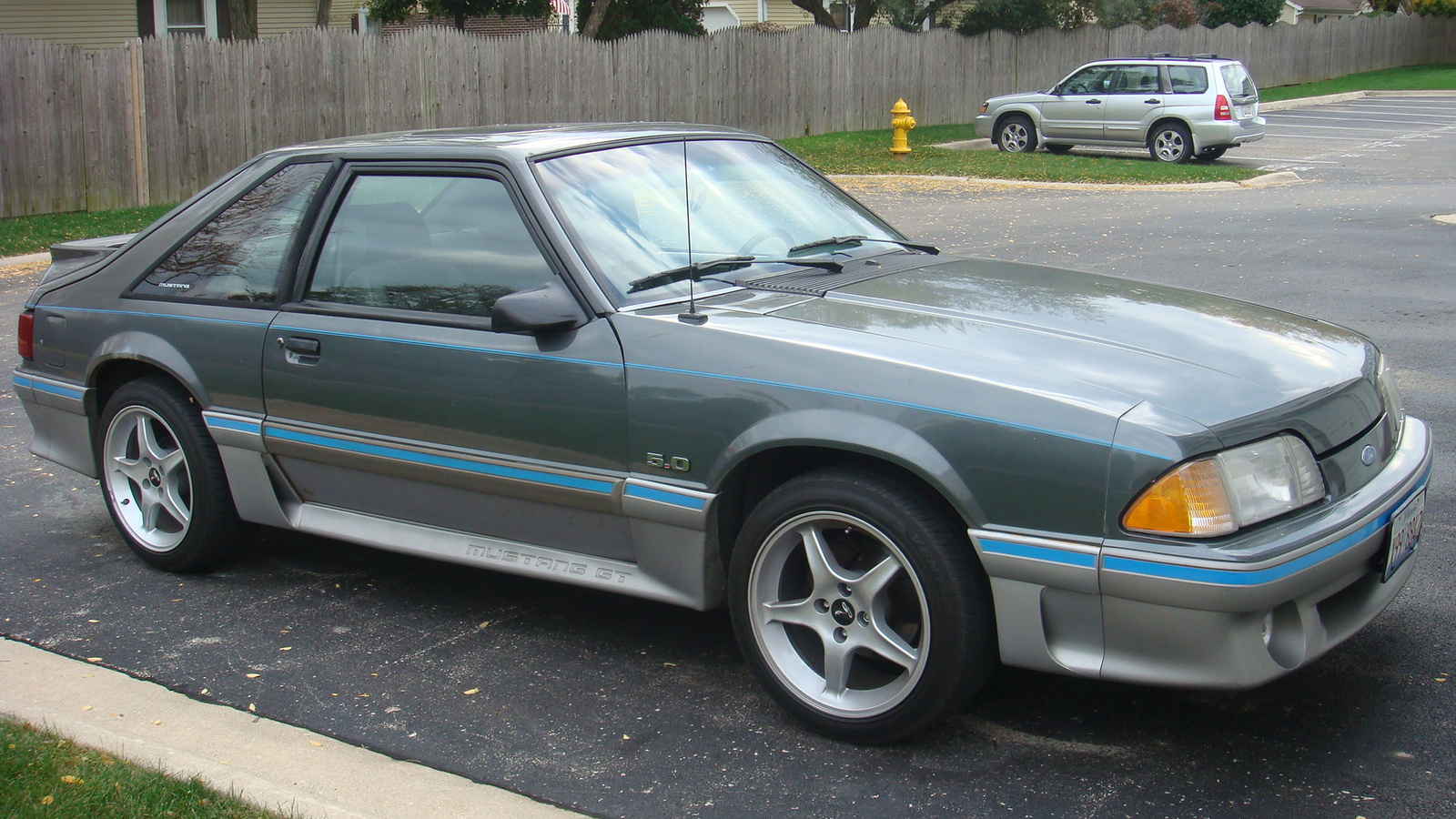 Ford Mustang 1987 #8