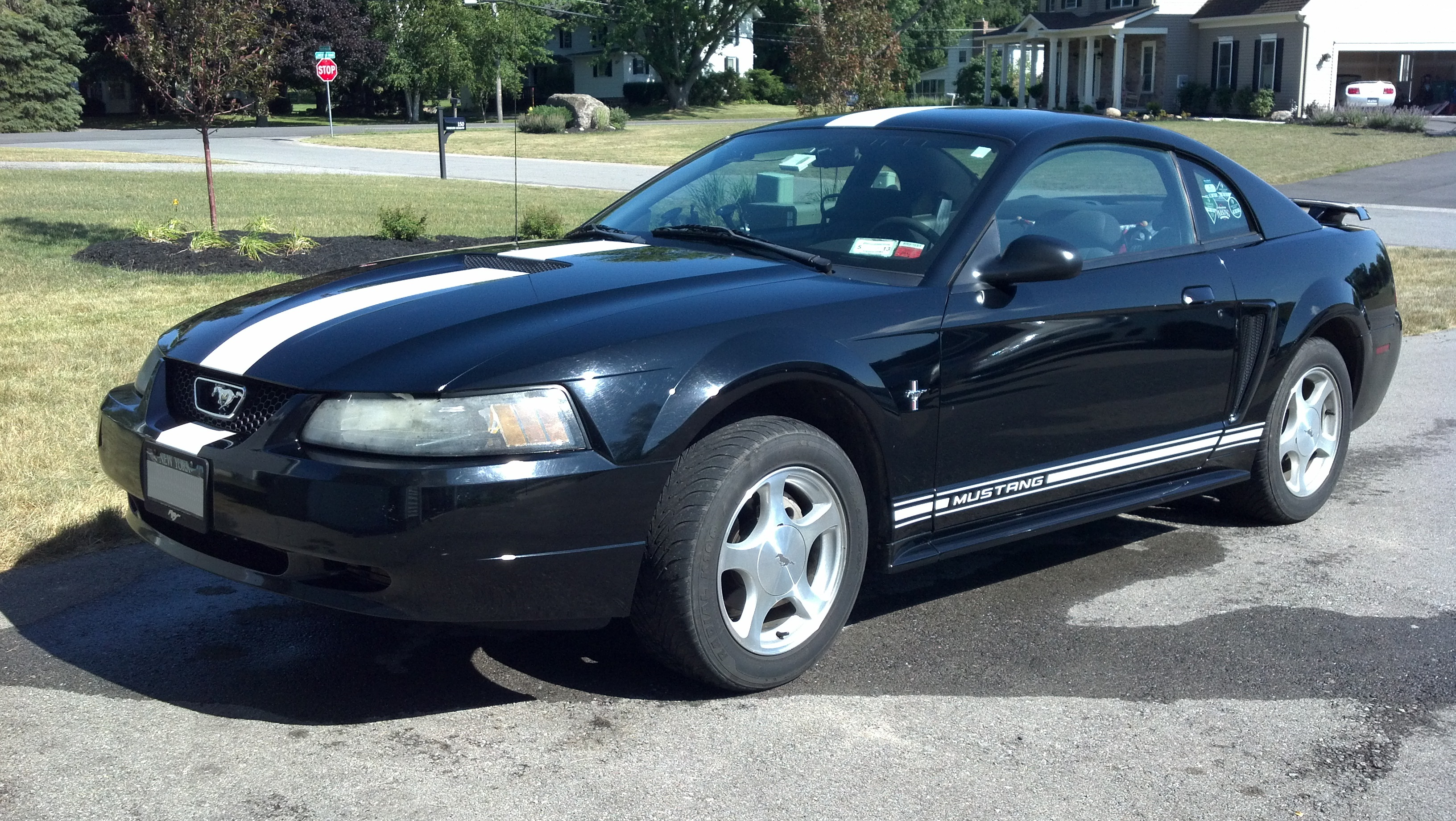 2001 ford mustang information and photos momentcar. Black Bedroom Furniture Sets. Home Design Ideas