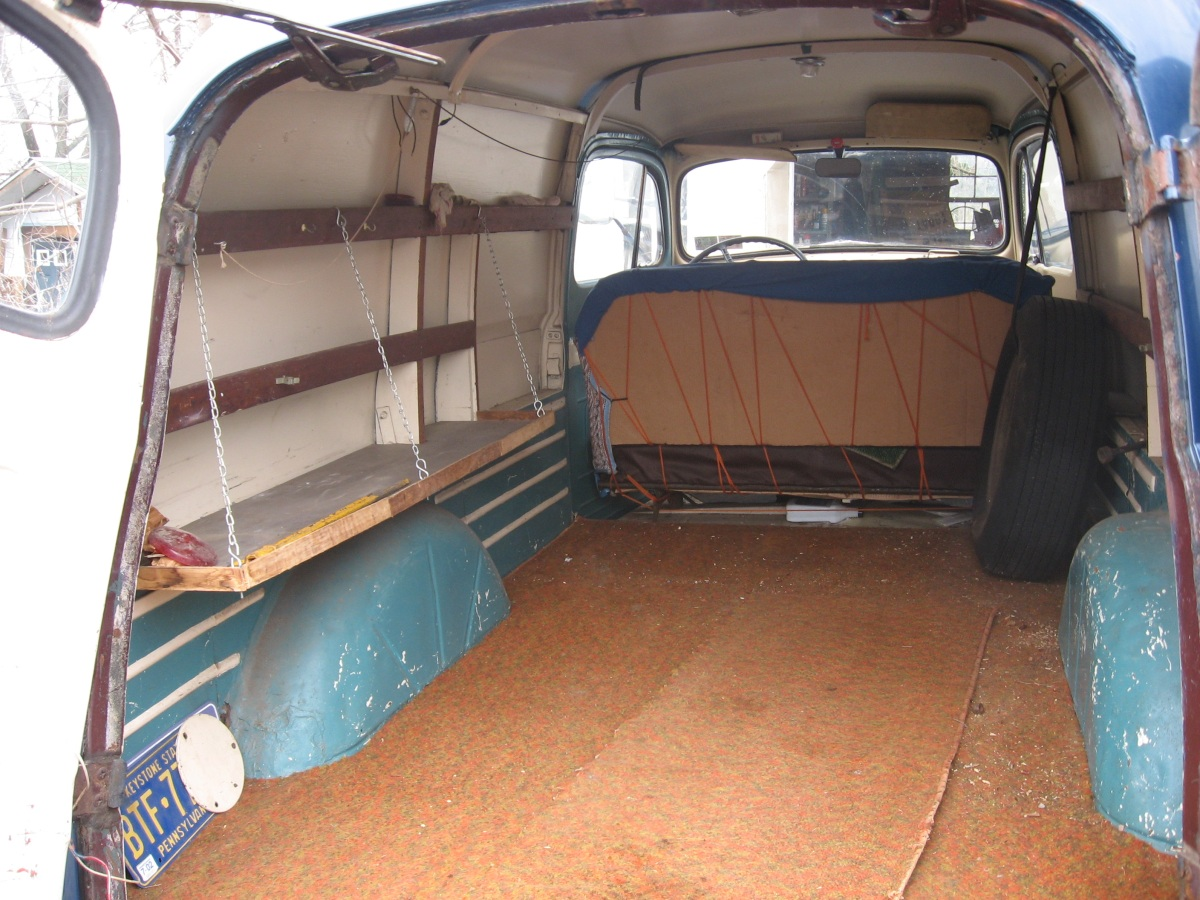 1949 Ford Panel Information And Photos Momentcar 4x4 Pickup Trucks 5