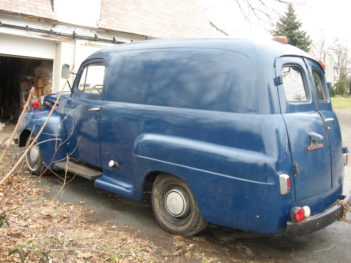 1949 Ford Panel Information And Photos Momentcar 1948 Truck 4x4 8
