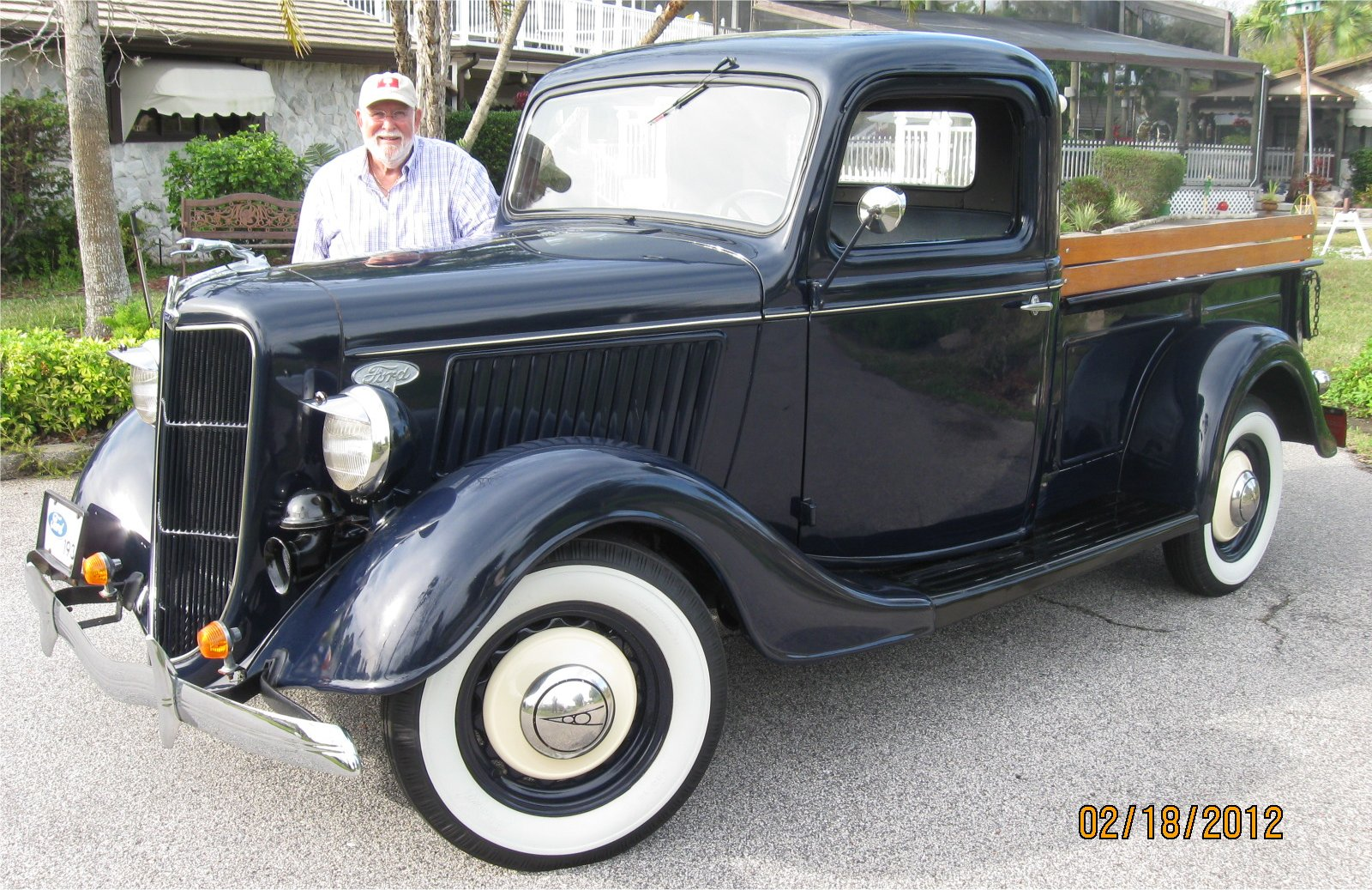 1936 Ford Pickup Information And Photos Momentcar