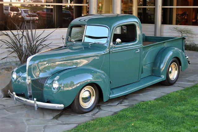 1940 ford pickup information and photos momentcar. Black Bedroom Furniture Sets. Home Design Ideas