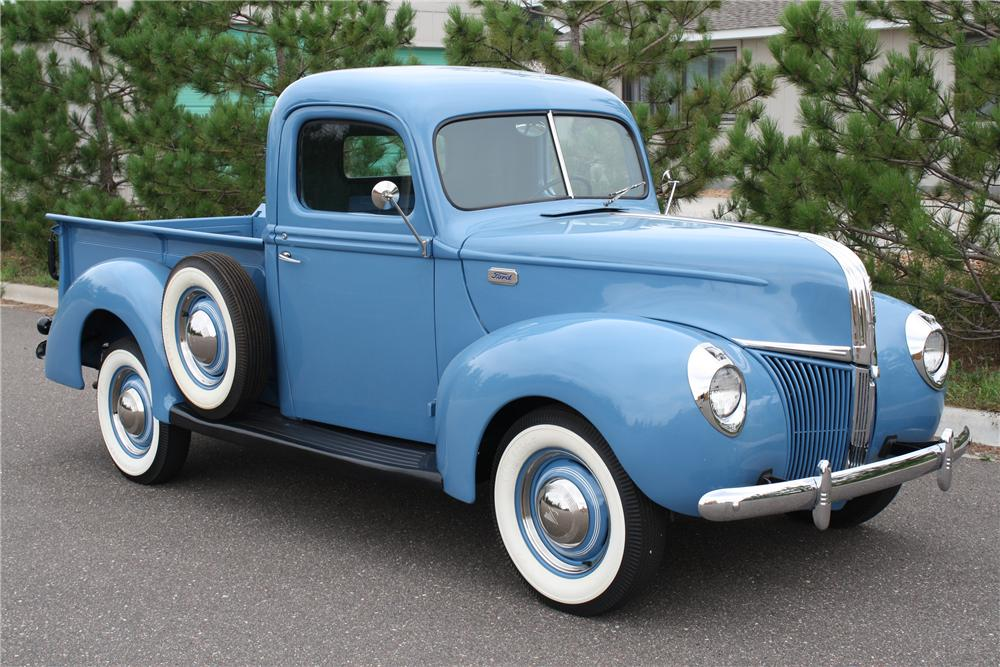 1941 Ford Pickup - Information and photos - MOMENTcar