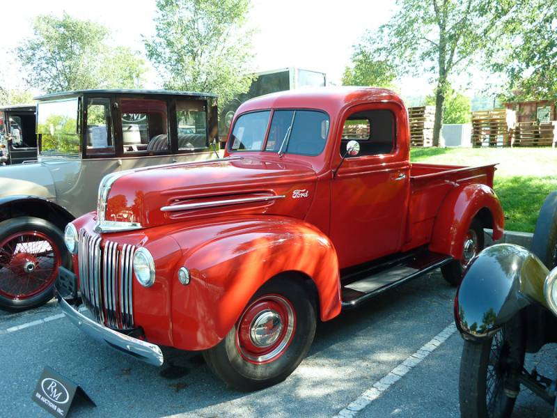 1945 Ford Pickup Information And Photos Momentcar