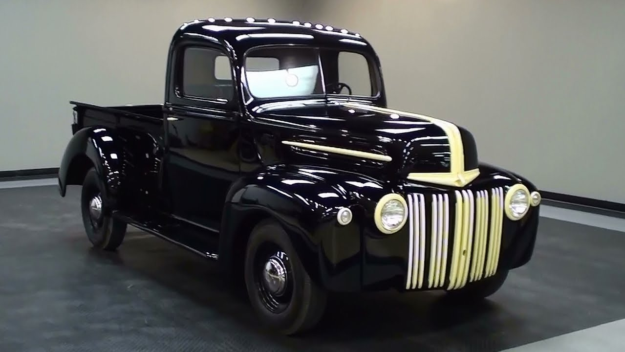 1945 Ford Pickup Information And Photos Momentcar 1941 F1 Truck 10