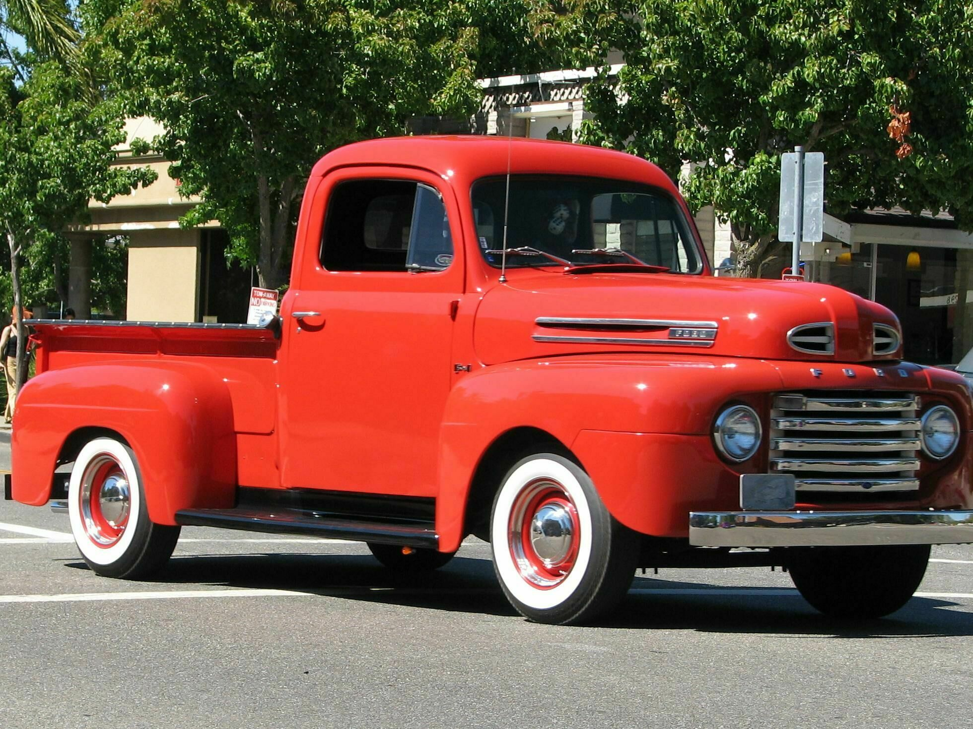Ford Pickup Youtube 1949 F1 Cab Mounts Photos