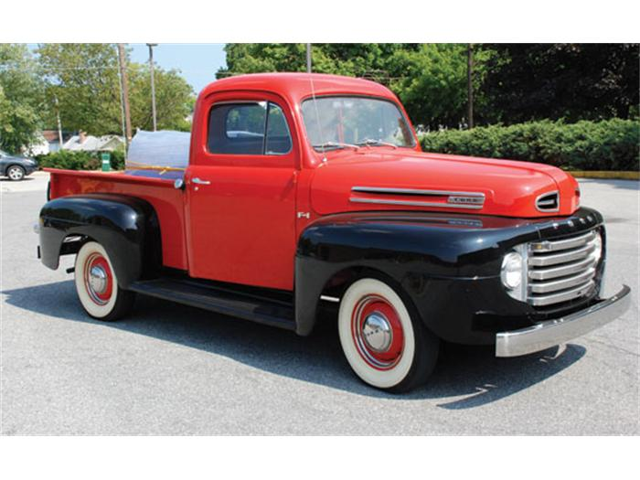 1950 ford pickup information and photos momentcar. Black Bedroom Furniture Sets. Home Design Ideas