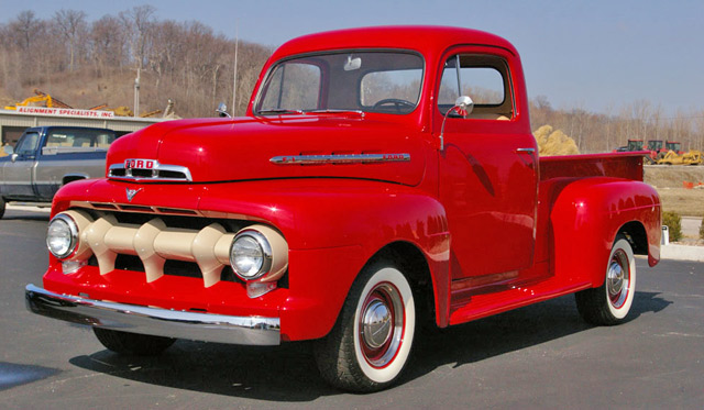 1951 Ford Pickup Information And Photos Momentcar