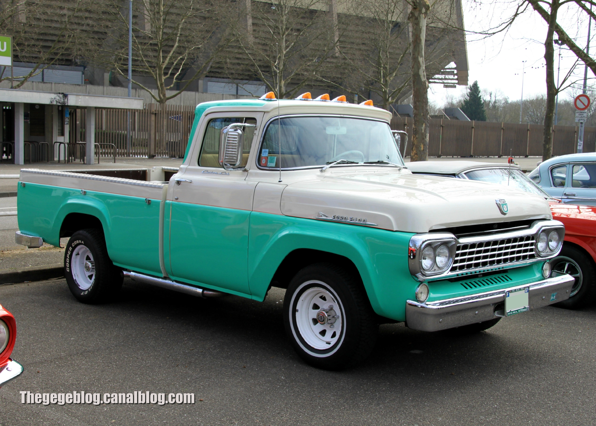 ford pickup 1958 11