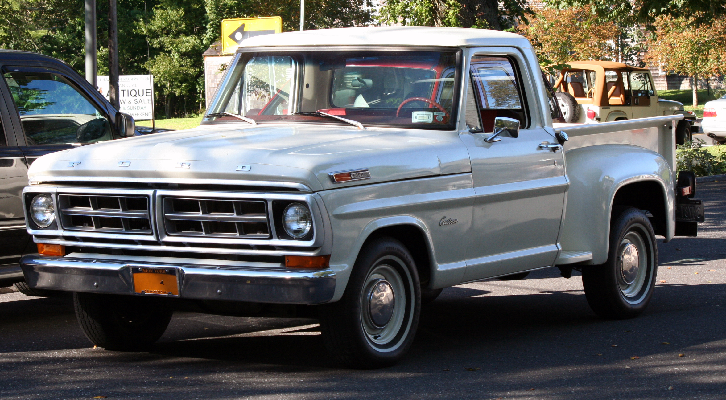 1971 Ford Pickup Information And Photos Momentcar