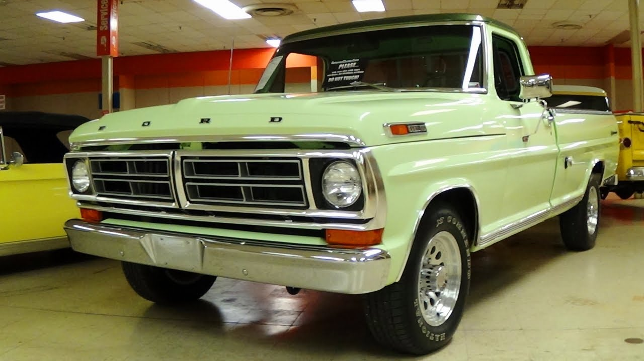 1972 Ford Pickup Information And Photos Momentcar