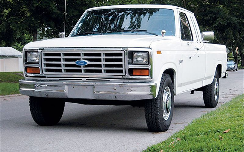 1984 ford pickup - information and photos