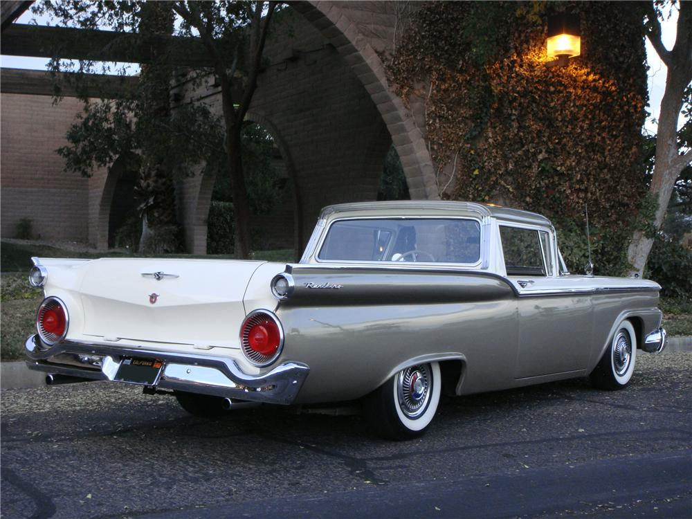 1959 ford ranchero   information and photos   momentcar