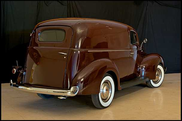 Ford Sedan Delivery on Renault 1940 Cars