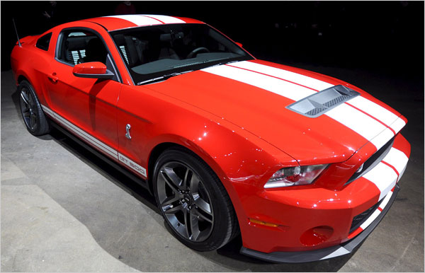 Ford Shelby GT500 2010 #4