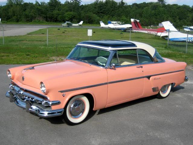 1954 Ford Skyliner Information And Photos Momentcar