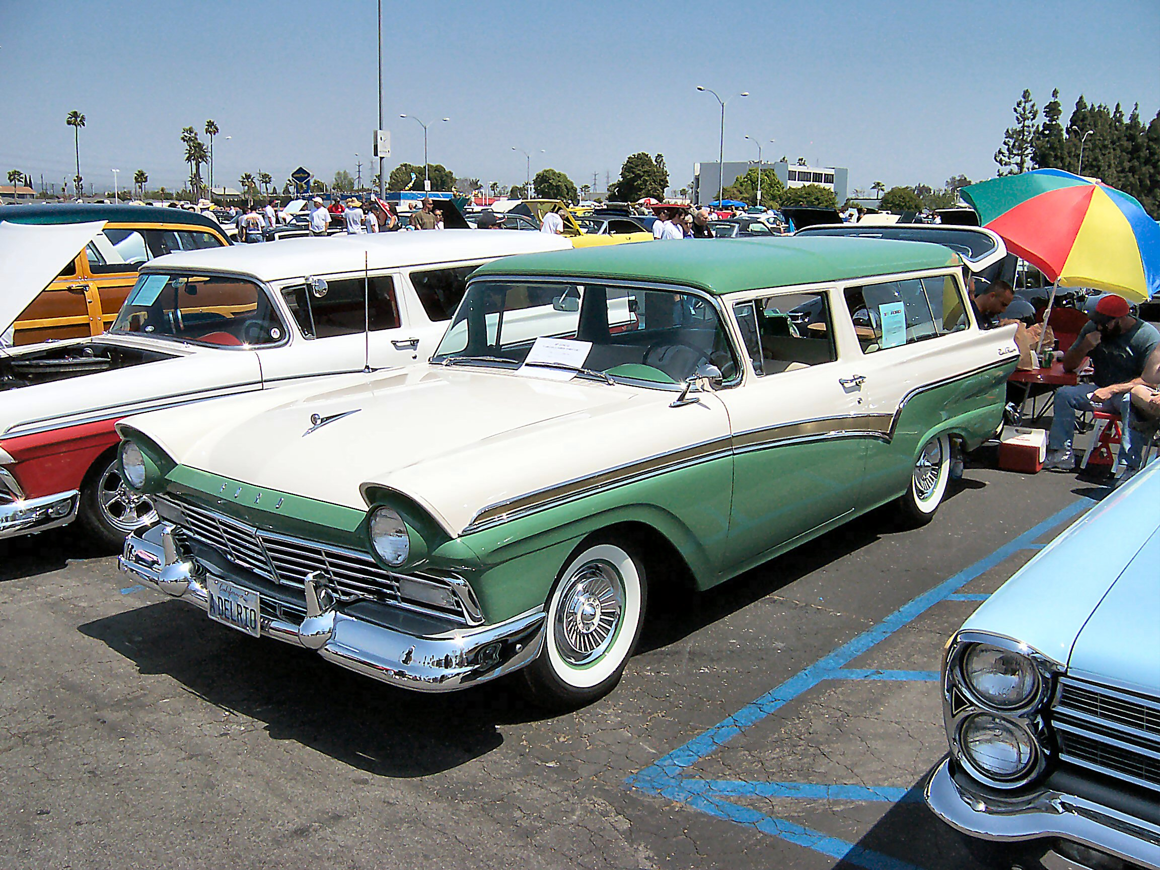 1957 Ford Station Wagon Information And Photos Momentcar