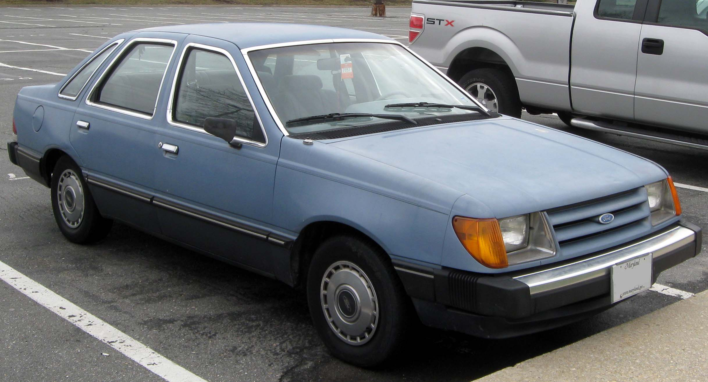 Totaled Cars For Sale >> 1986 Ford Tempo - Information and photos - MOMENTcar