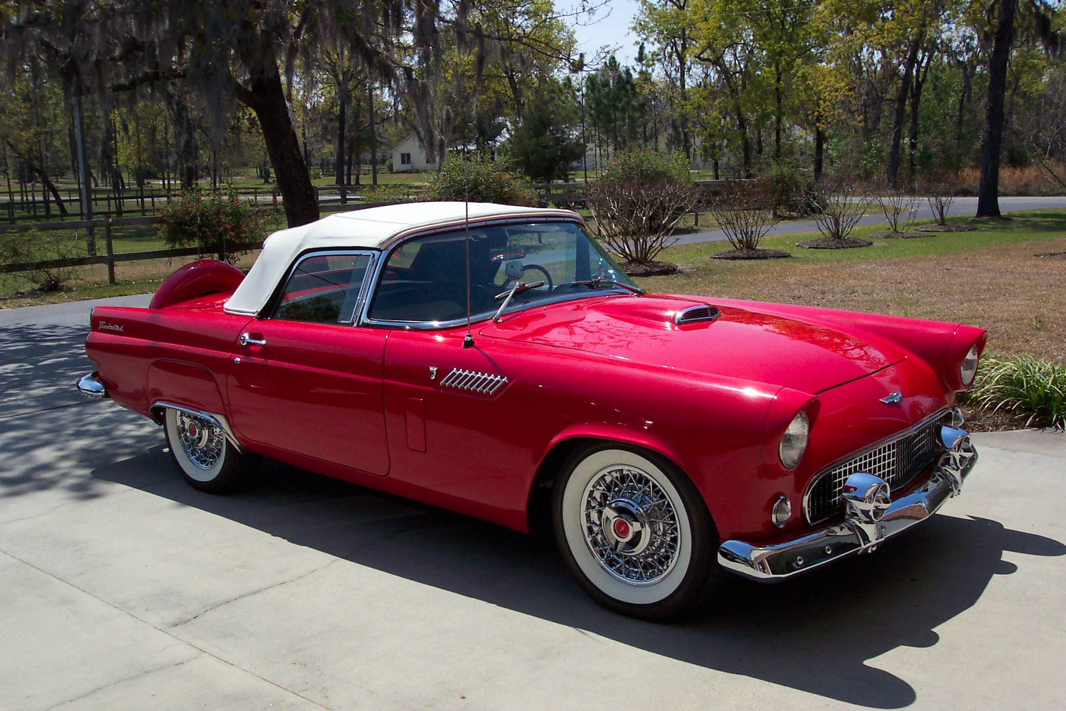 Ford thunderbird 1956 4 ford thunderbird 1956 4