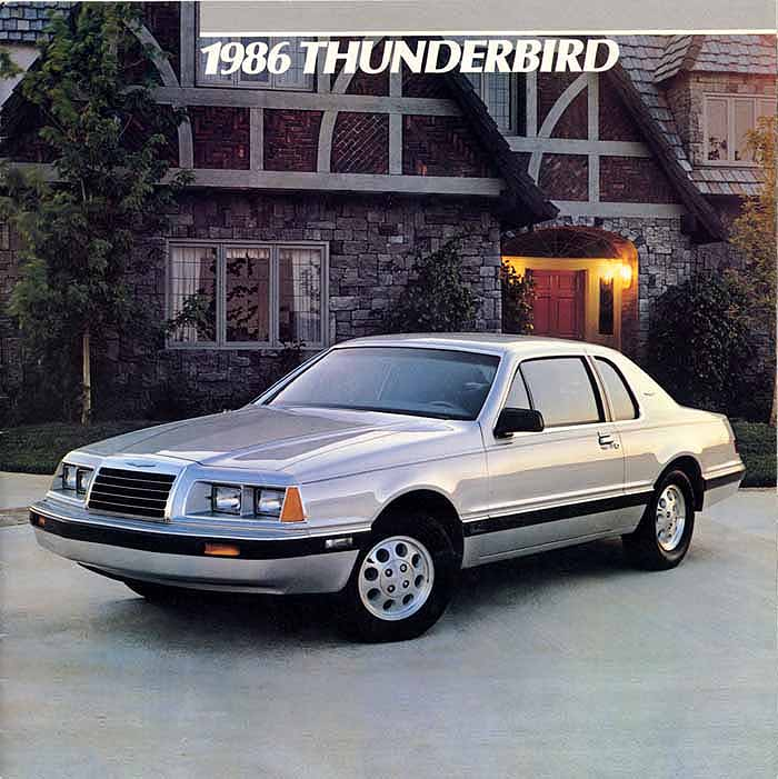 Ford 2 3 Turbo T Bird: Information And Photos