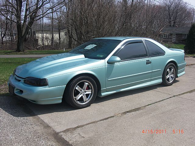 1995 ford thunderbird information and photos momentcar. Black Bedroom Furniture Sets. Home Design Ideas