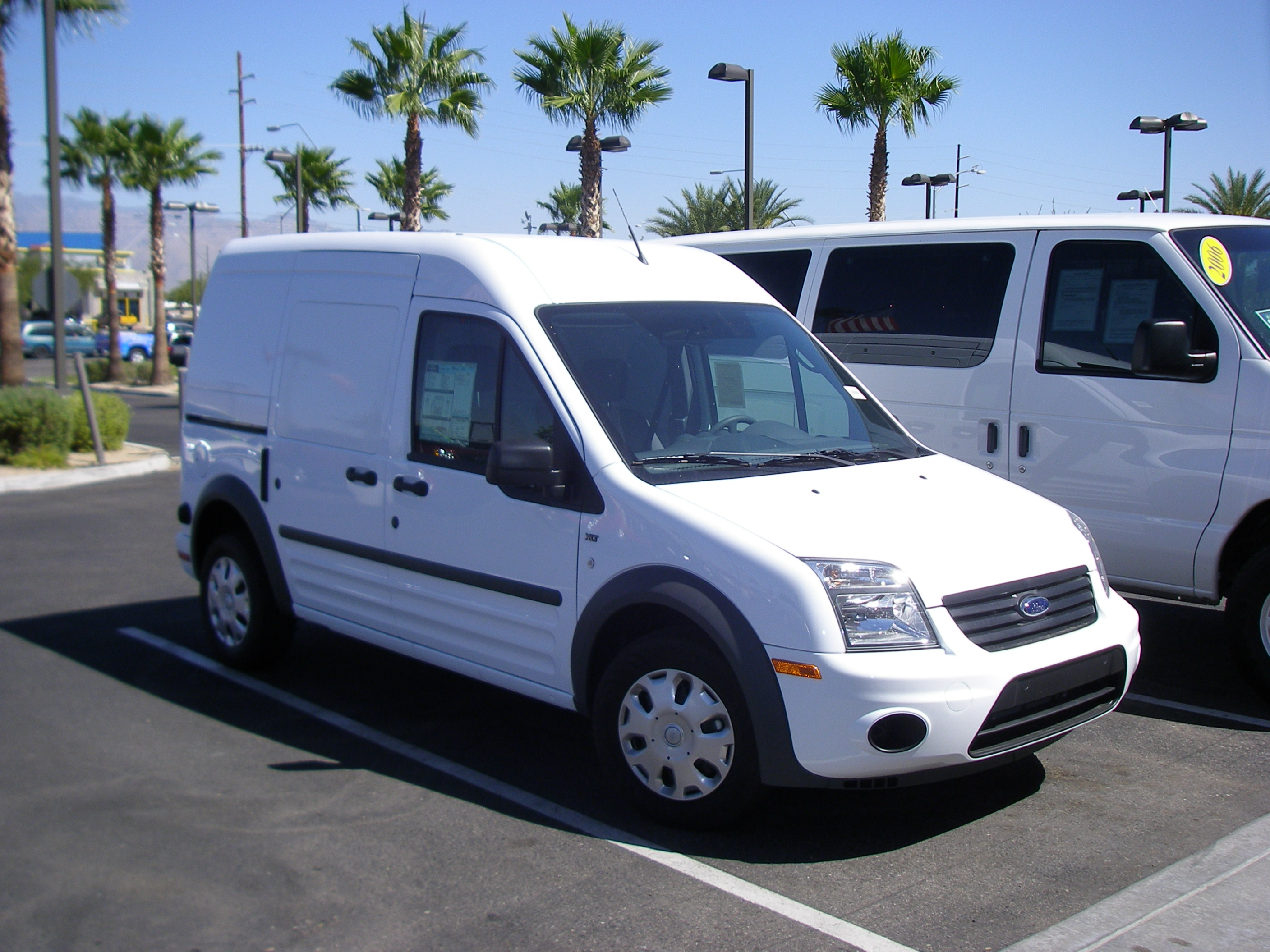 Ford Transit Connect 2010 #8
