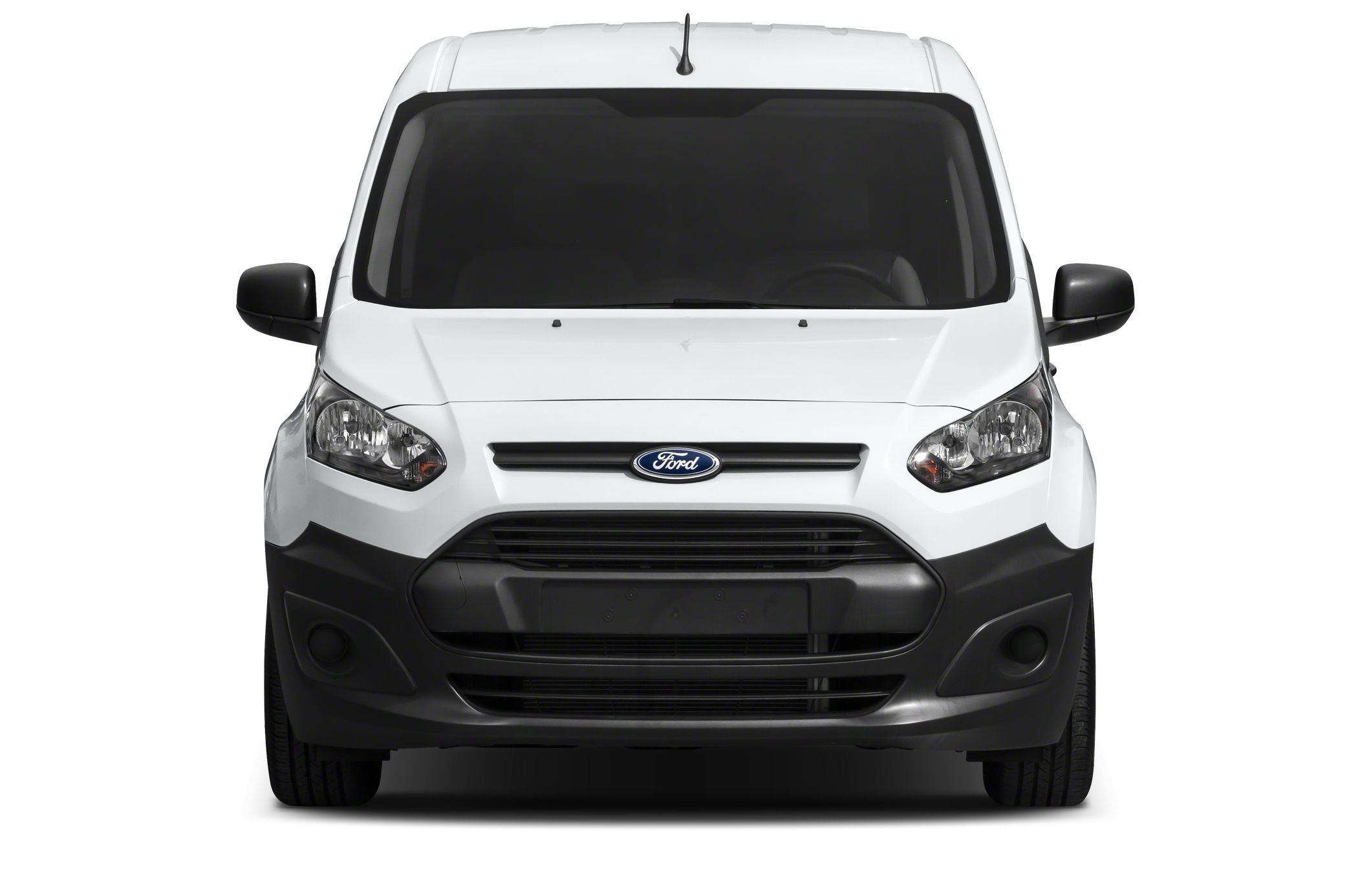 White 2014 ford transit connect