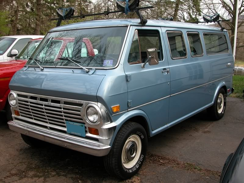 1969 Ford Van Information And Photos Momentcar