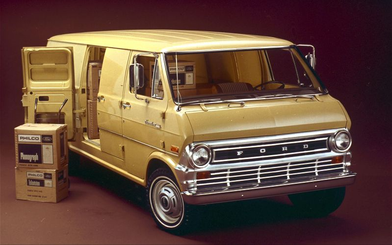 1975 Ford Van Information And Photos Momentcar