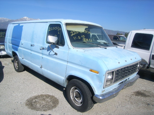 1980 Ford Van - Information And Photos