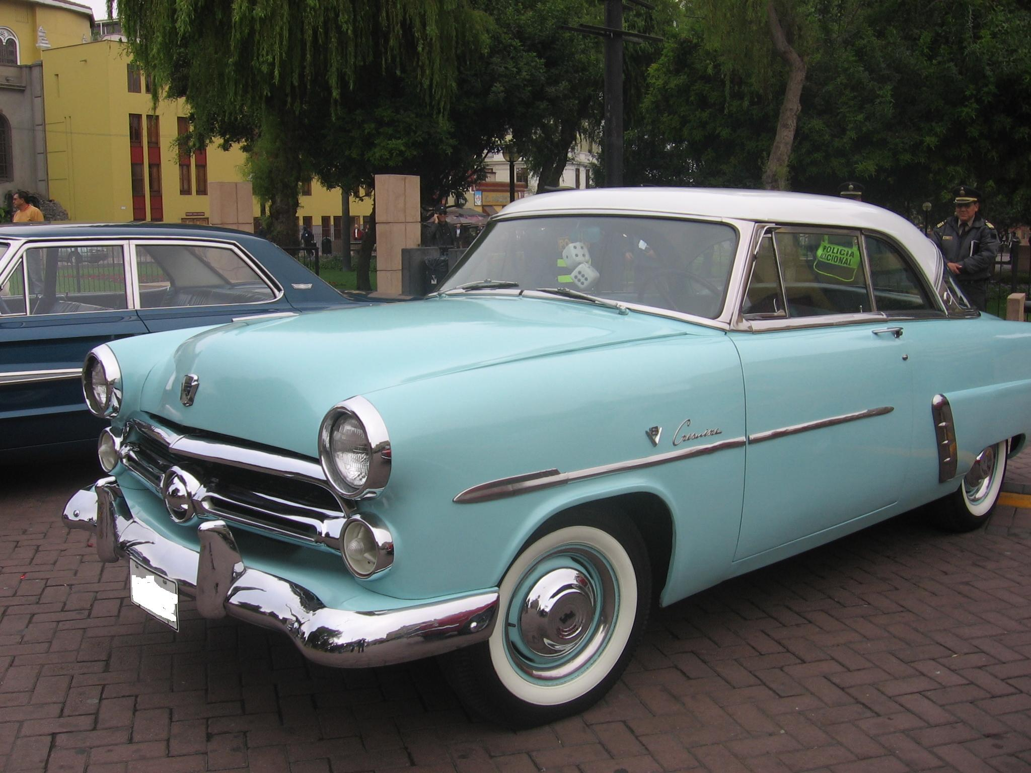 1952 ford victoria information and photos momentcar
