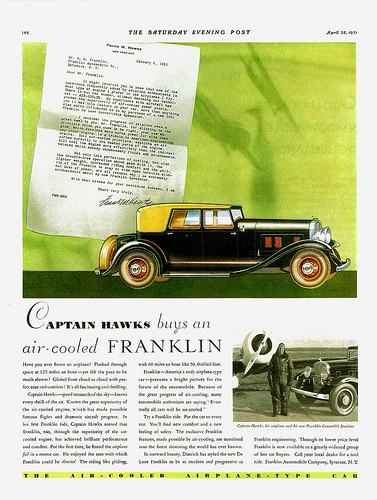 Franklin Series 15 Deluxe 1931 #11