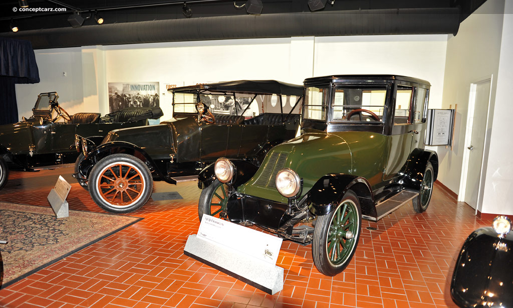 1919 Franklin Series 9 - Information and photos - MOMENTcar