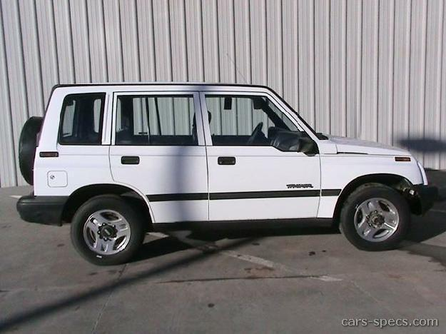 Geo Tracker Base w/Soft Top #4